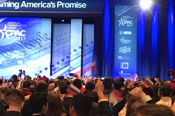 Russian Flag Stunt at the Conservative Political Action Conference (CPAC)